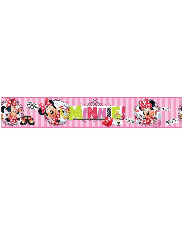 Minnie mouse border wallpaper