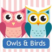 Hiboux et oiseaux