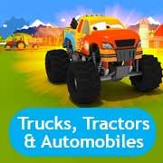Trucks, Tractors & Automobiles