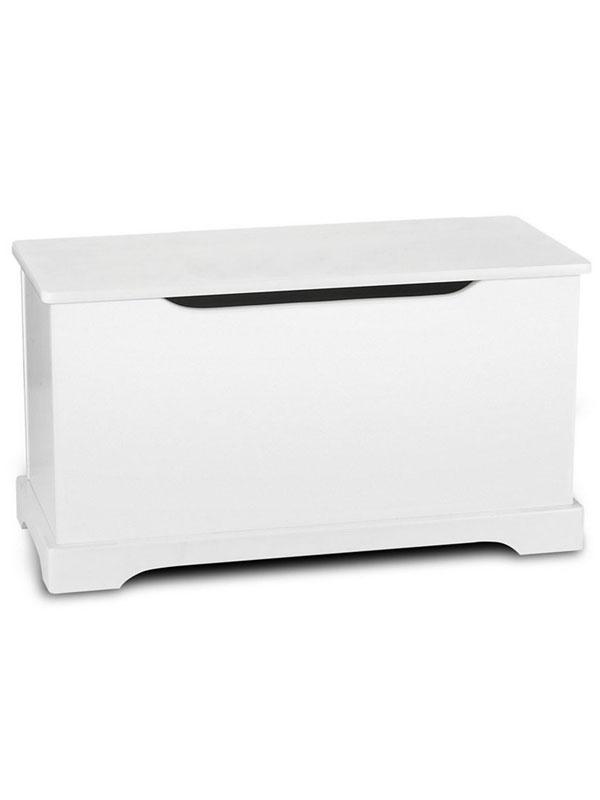White Wooden Toy Box