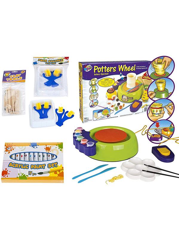 Leomark Potters Wheel Set