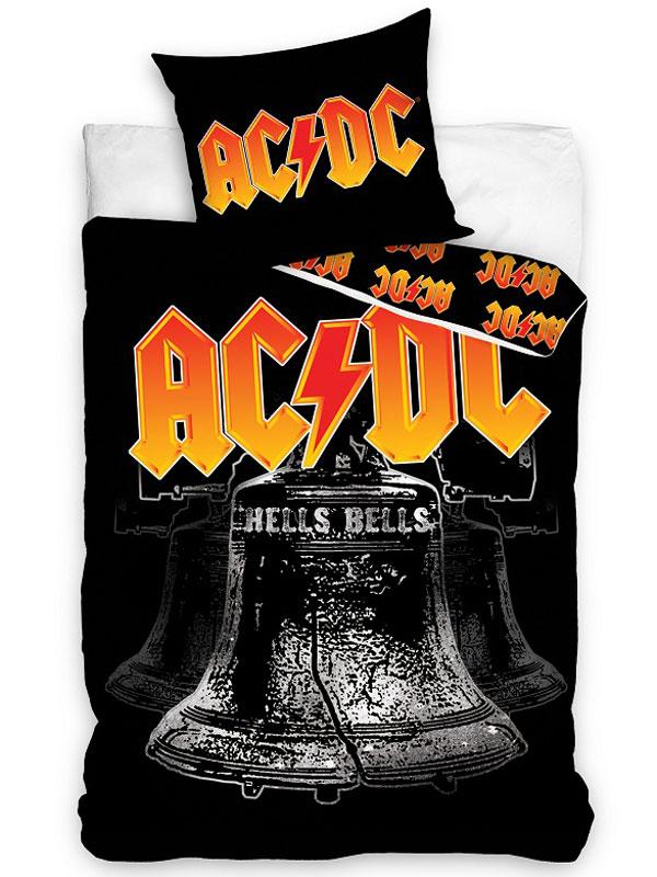 AC/DC Hells Bells Single Cotton Duvet Cover Set - European Size