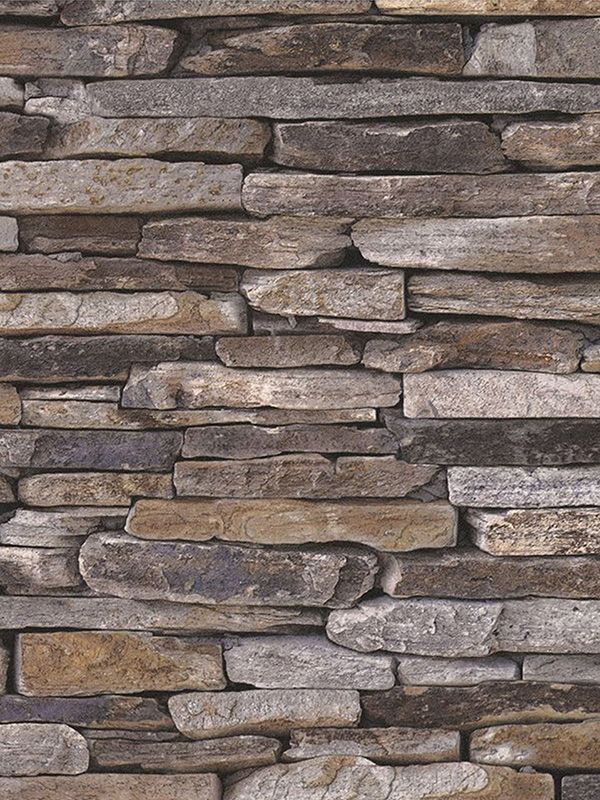 Natural Stone Slate Effect Wallpaper AS Creation 9142-17