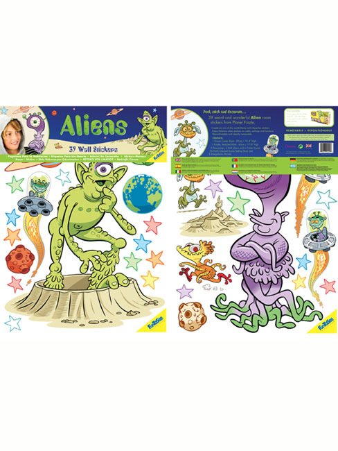Aliens 39 Giant Wall Stickers