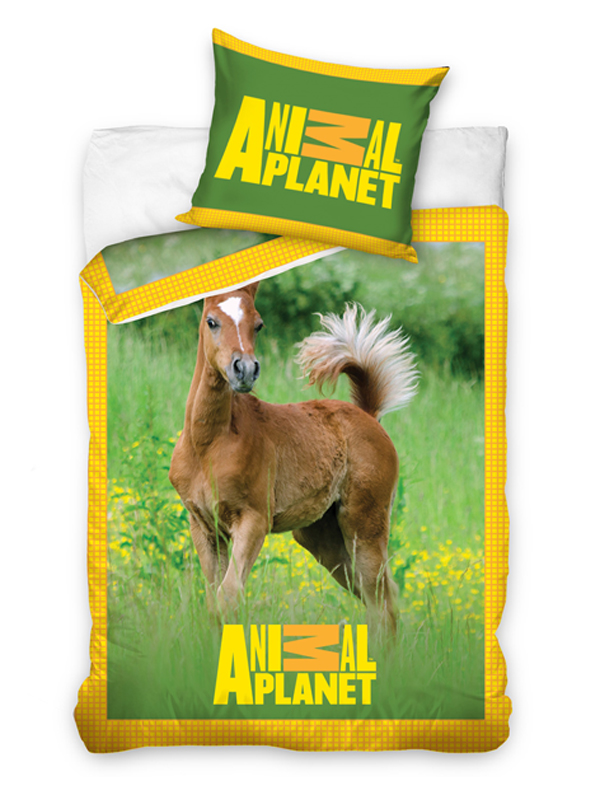 Animal Planet Foal Single Duvet Cover Pillowcase Set