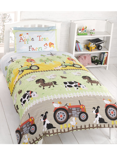 Apple Tree Farm Junior Duvet Cover Pillowcase Set