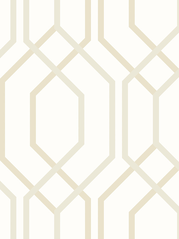 Arthouse Artemis Geometric Wallpaper Gold 891900