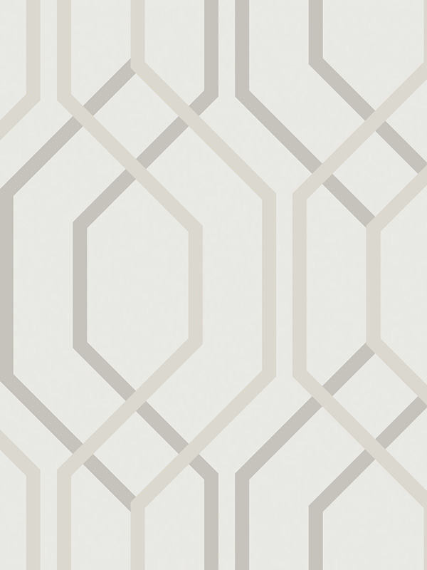 Arthouse Artemis Geometric Wallpaper Mocha 891901