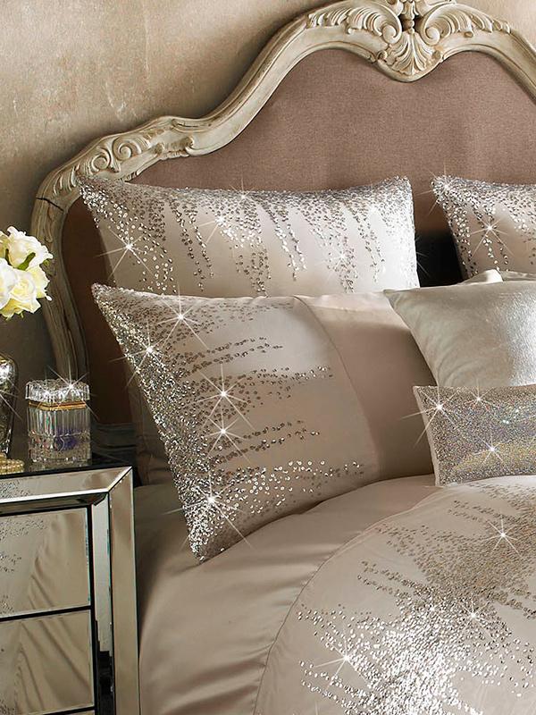 Price Right Home Kylie Minogue Jessa Blush Square Pillowcase