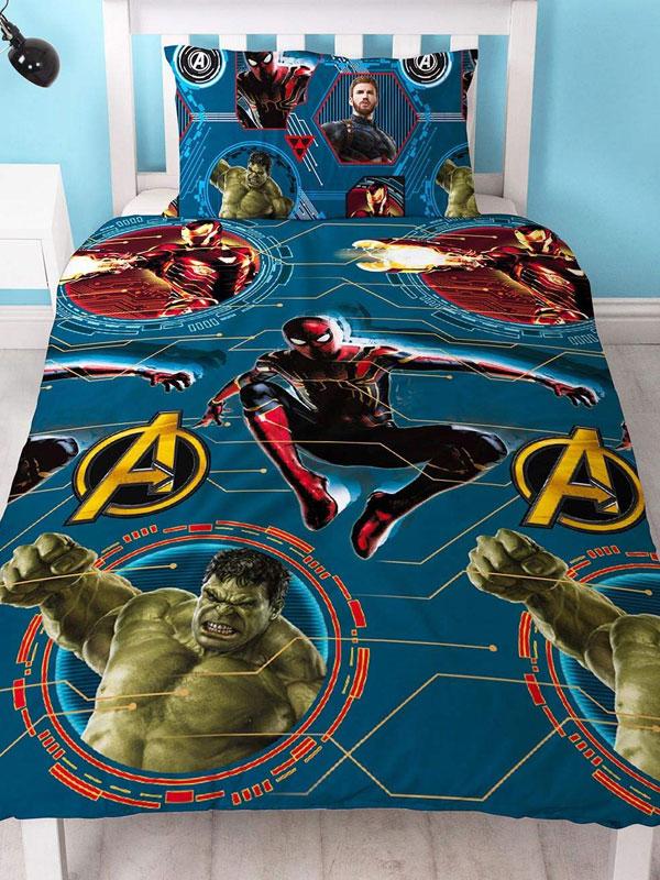 Marvel Avengers Force Single Duvet Cover Set