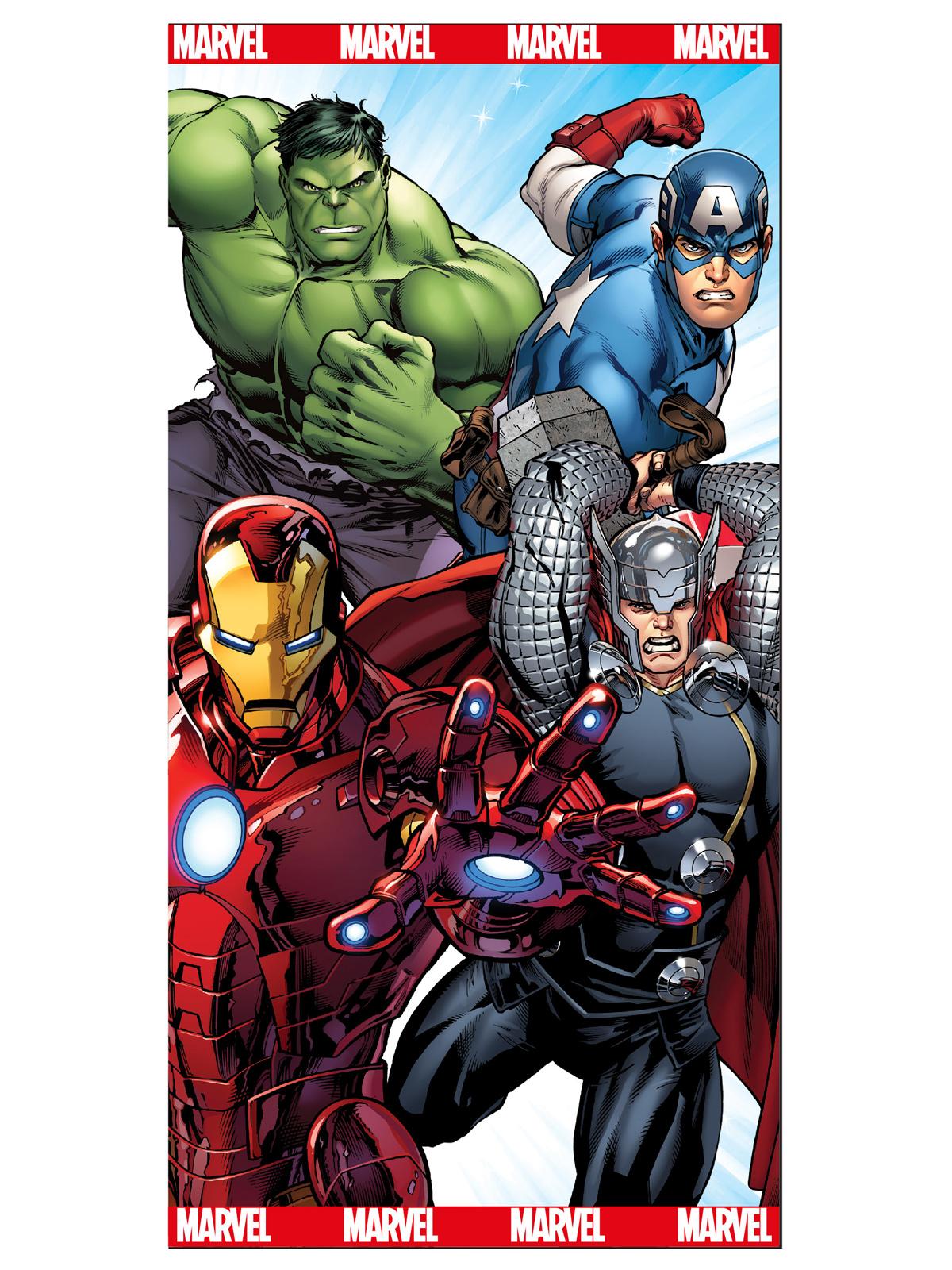 Marvel Avengers Beach Towel