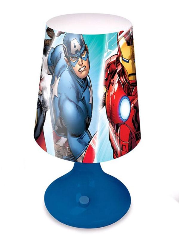 Marvel Avengers Blue Table Lamp