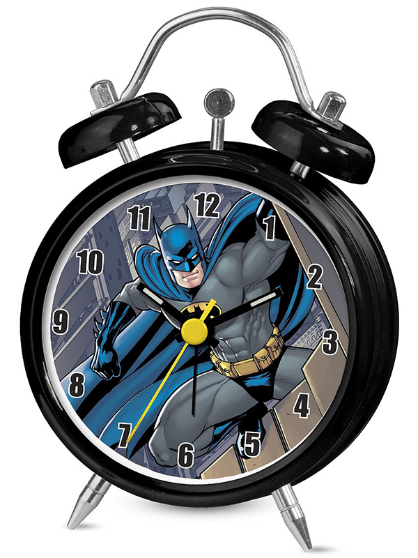 Batman Mini Twinbell Alarm Clock
