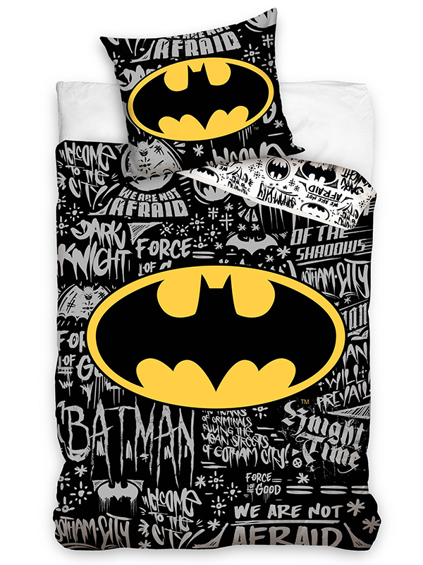 Price Right Home Batman Urban Single Duvet Cover and Pillowcase Set