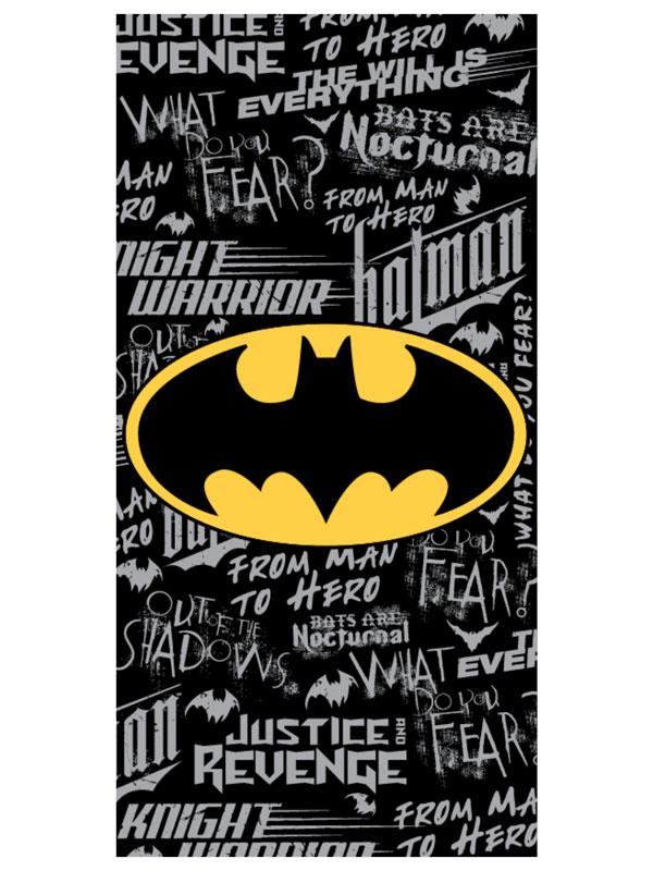 Batman Graffiti Beach Towel