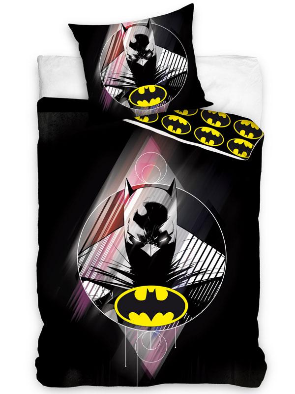 Batman Single Cotton Duvet Cover and Pillowcase Set - European Size