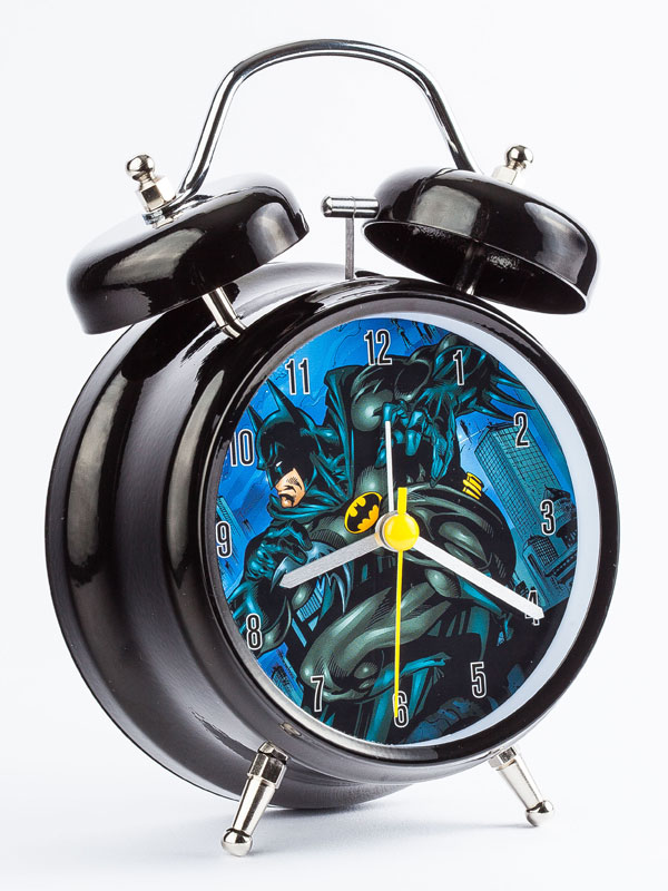 Batman Twinbell Alarm Clock