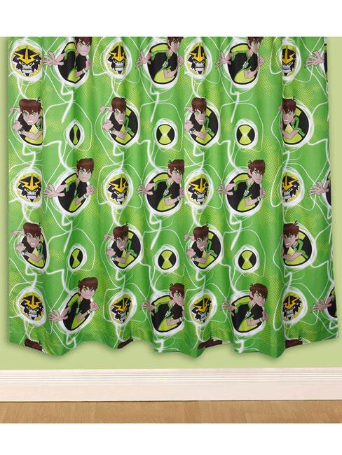 Ben 10 Omniverse Curtains