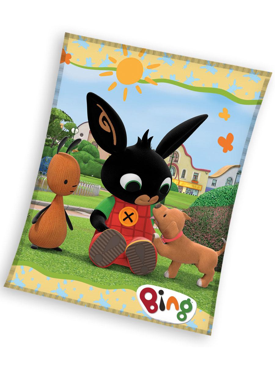 BIng Bunny Play Fleece Blanket