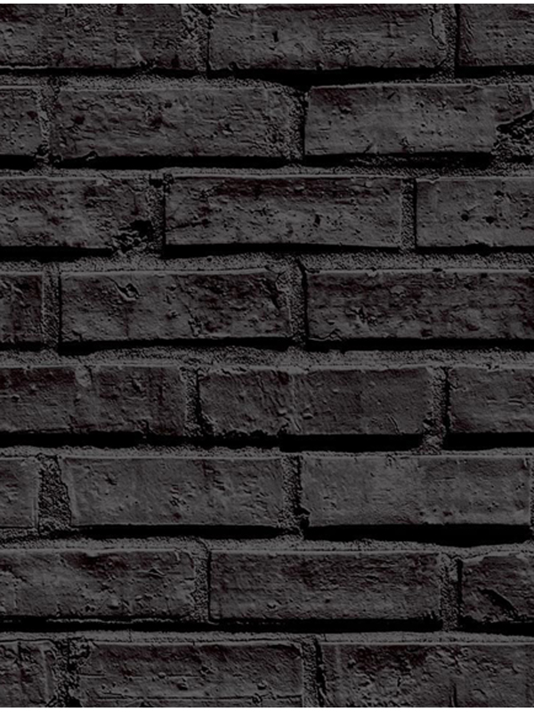 Black Brick Wallpaper Arthouse 623007