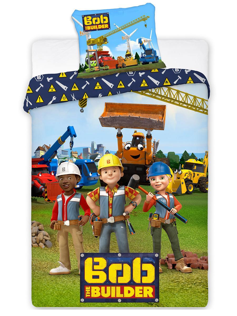 Bob the Builder Single Duvet Cover Set - European Size