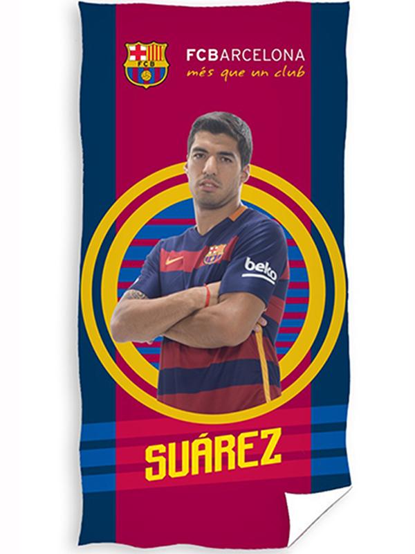 FC Barcelona Suárez Target Towel