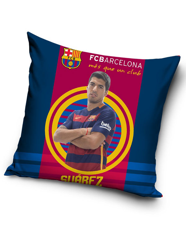 fc barcelona suárez target cushion