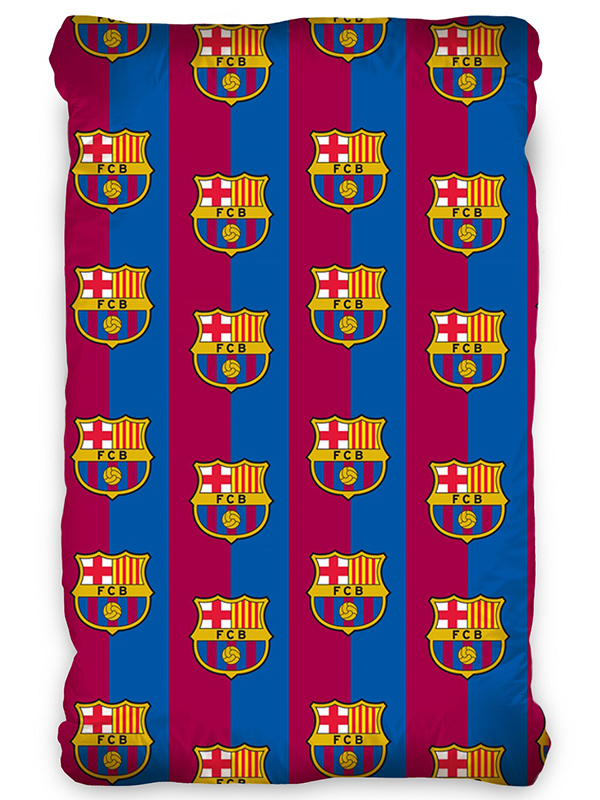 fc barcelona single fitted sheet