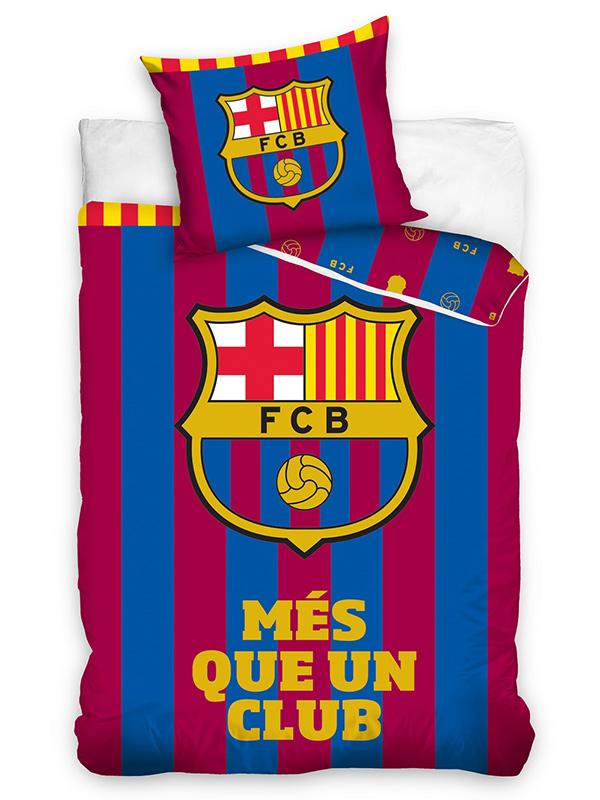 FC Barcelona Més Que Un Club Single Duvet Cover Set - European Size