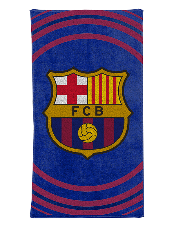 Price Right Home FC Barcelona Pulse Towel