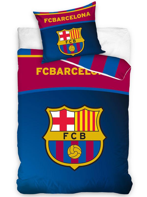 FC Barcelona Centre Logo Single Duvet Cover Set - European Size