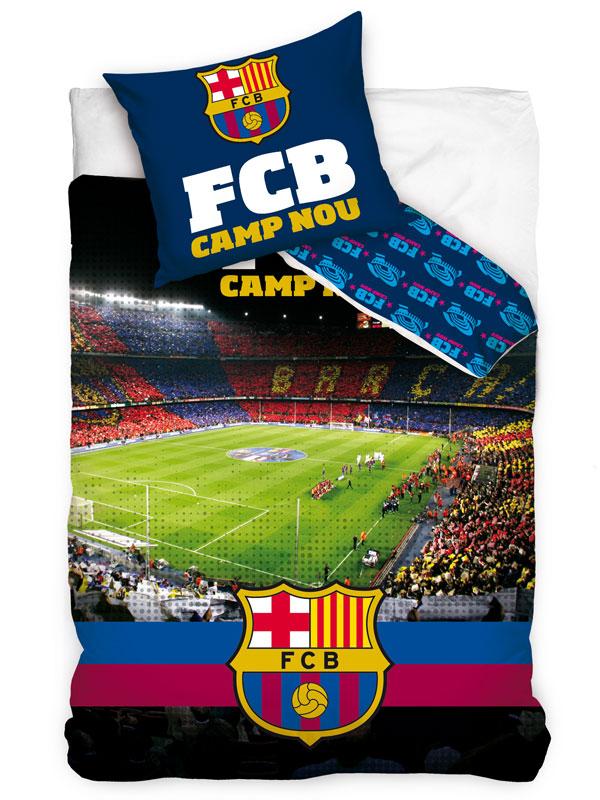 FC Barcelona Camp Nou Single Cotton Duvet Cover Set - European Size