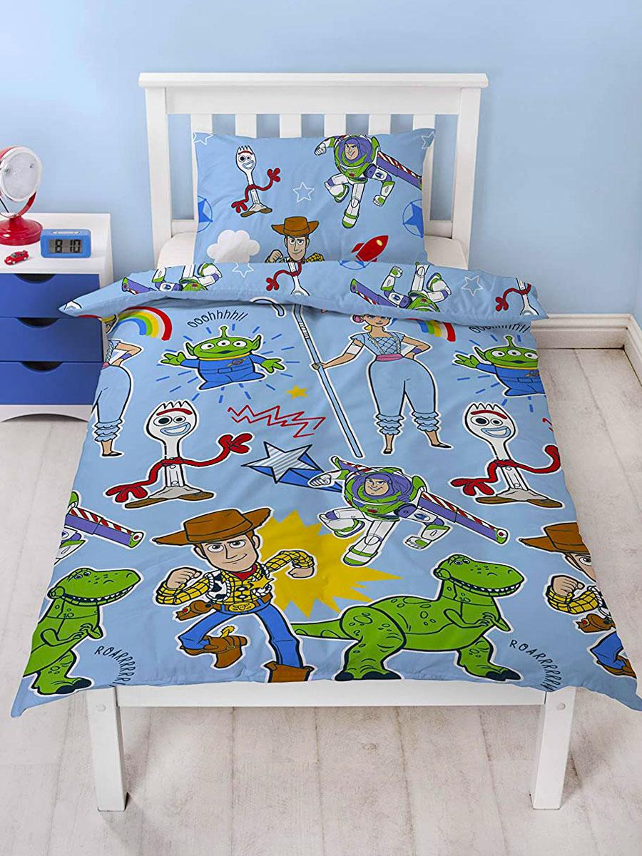 Toy Story 4 Roar Single Duvet Cover Set - Rotary Design