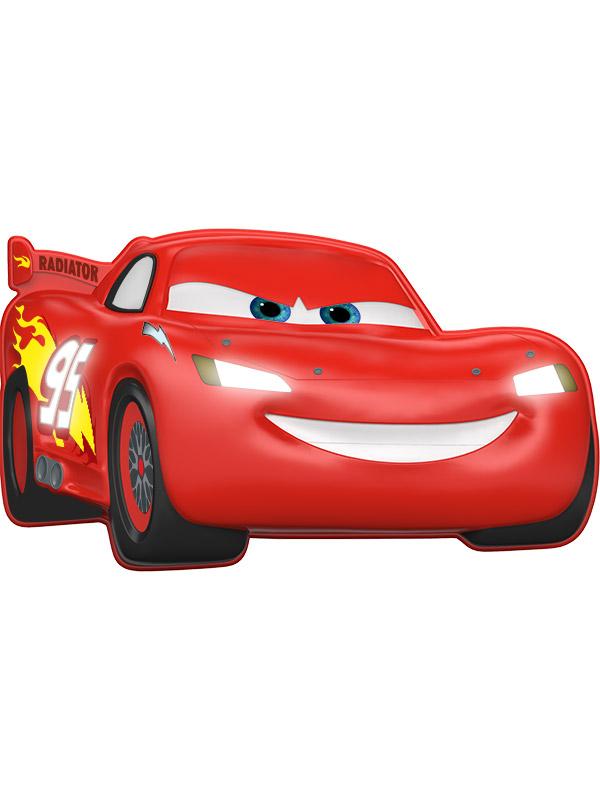 Disney Cars Lightning McQueen 3D Wall Light
