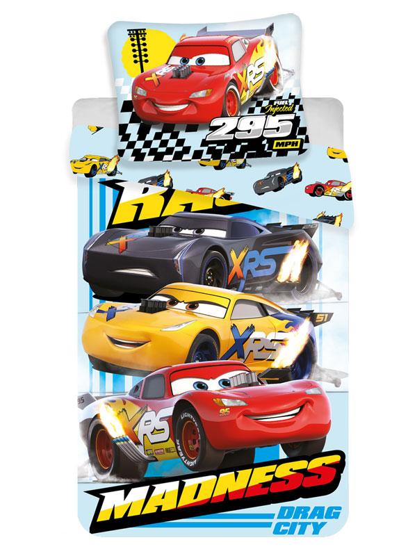 Disney Cars Drag Madness Single Duvet Cover Set - European Size