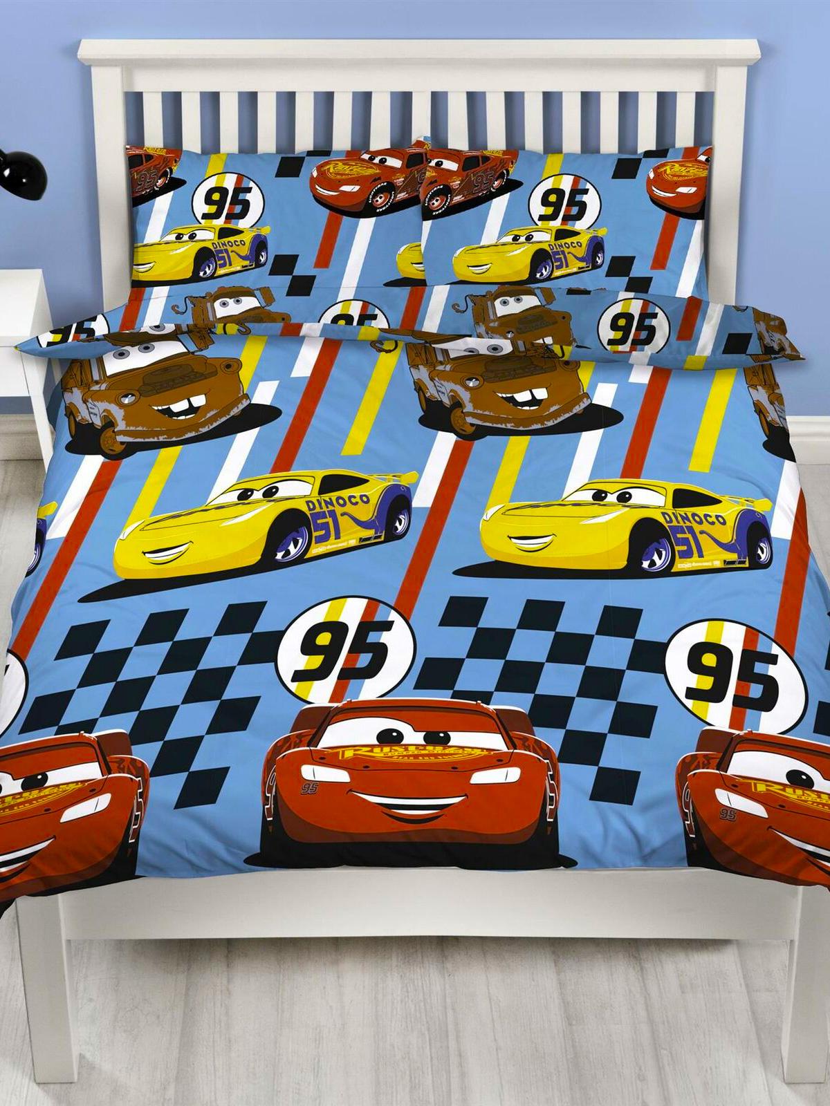 Disney Cars Dinoco Double Duvet Cover Set