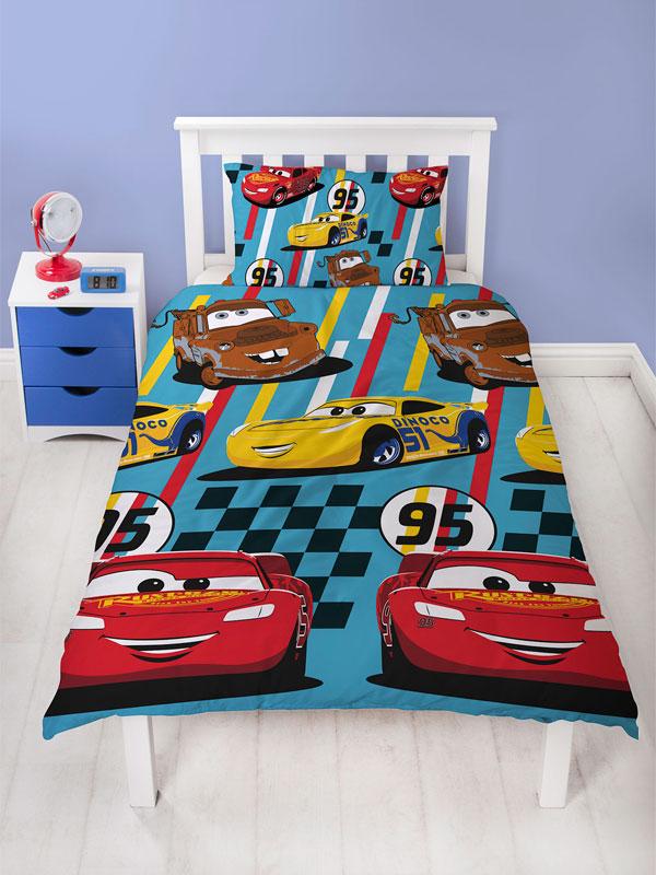Disney Cars Dinoco Single Duvet Cover Set