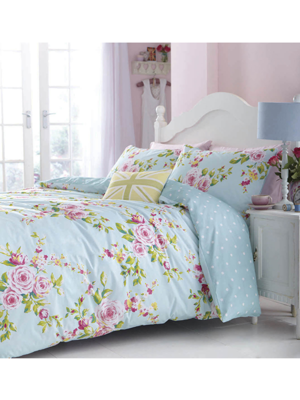 Duvets, Blankets & Bedspreads Catherine Lansfield Canterbury King Size Duvet Cover Set