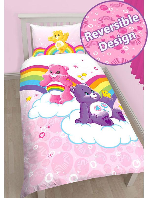 Home & Garden Bedding Children's Bedding Duvet Covers Care Bears Share Single Panel Duvet Cover Set