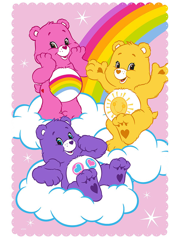 Care Bears Share Fleece Blanket