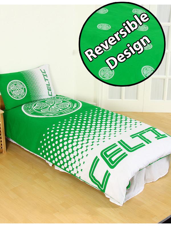 Home & Garden|Bedding|Children's Bedding|Duvet Covers Celtic FC Fade Single Duvet Cover and Pillowcase Set