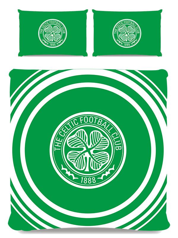 Celtic FC Pulse Double Duvet Cover and Pillowcase Set