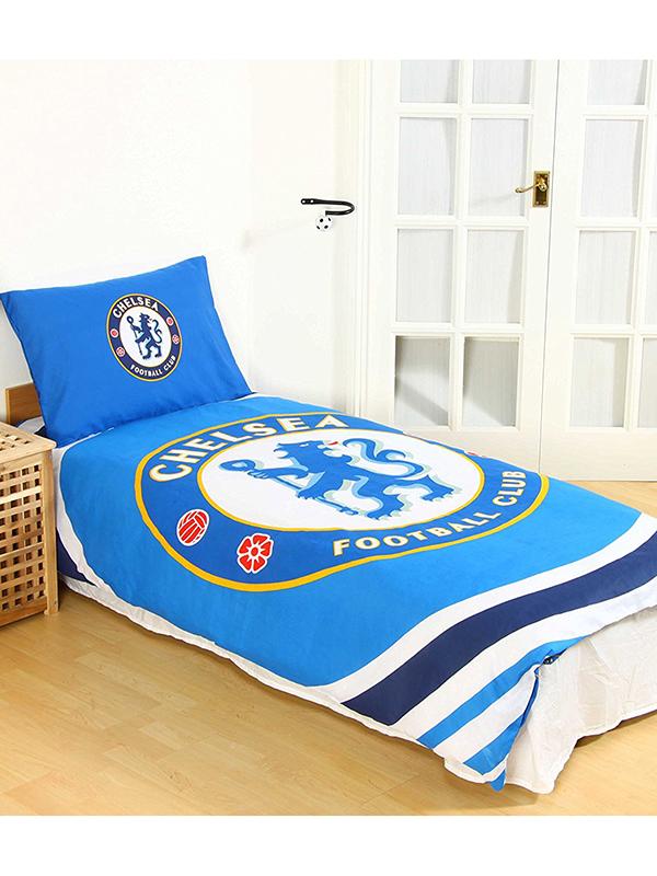 Chelsea FC Pulse Single Duvet Cover and Pillowcase Set