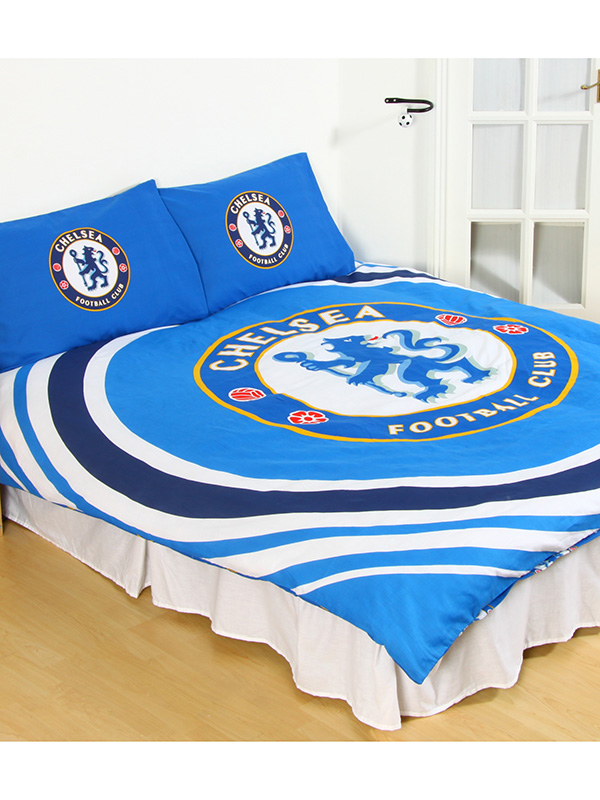 Chelsea FC Pulse Double Duvet Cover and Pillowcase Set