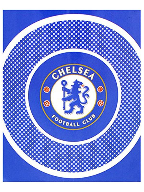 Chelsea FC Bullseye Fleece Blanket