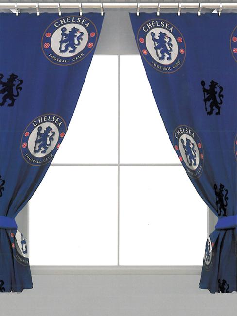 Chelsea FC Crest Curtains