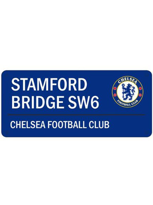 Chelsea FC Stamford Bridge Street Sign
