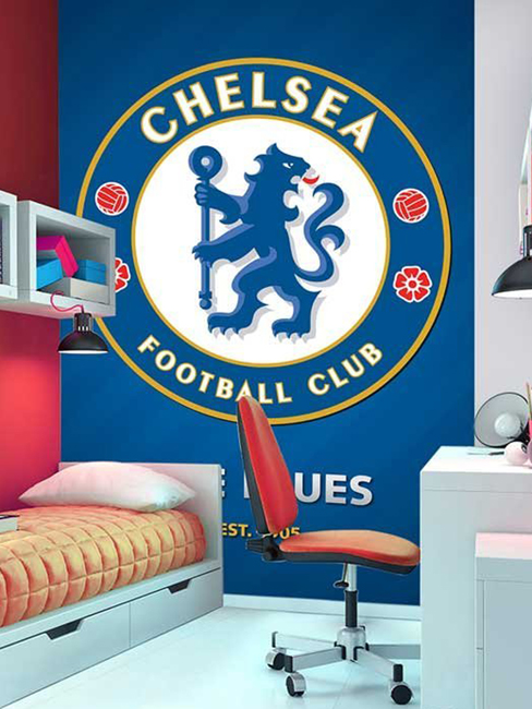 Chelsea FC Wall Mural 232m x 158m
