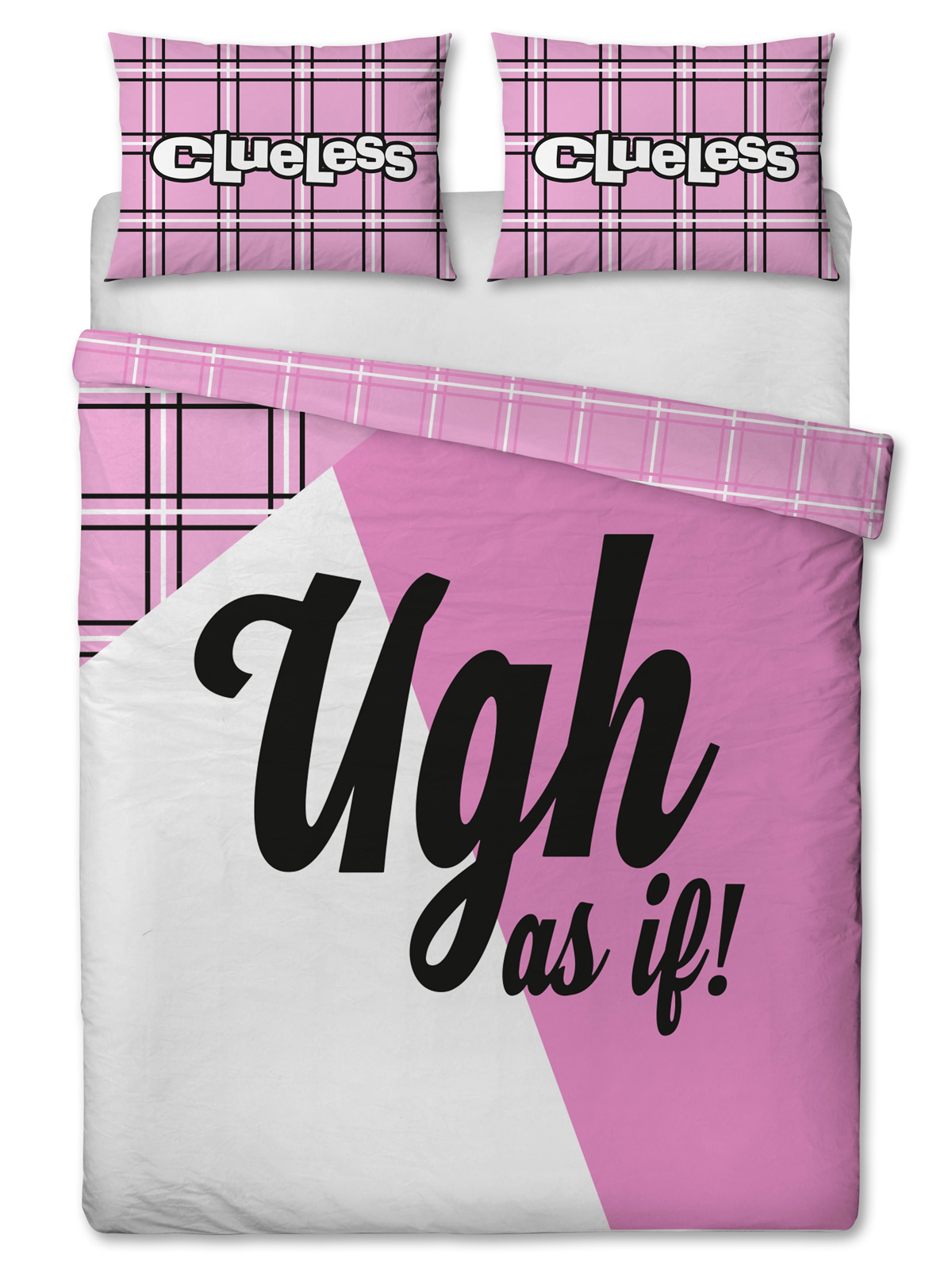 Clueless Icon Double Duvet Cover and Pillowcase Set