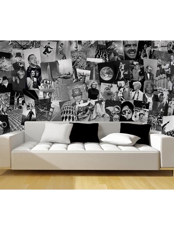 Creative Collage Life Designer Wall Mural 64 Piece